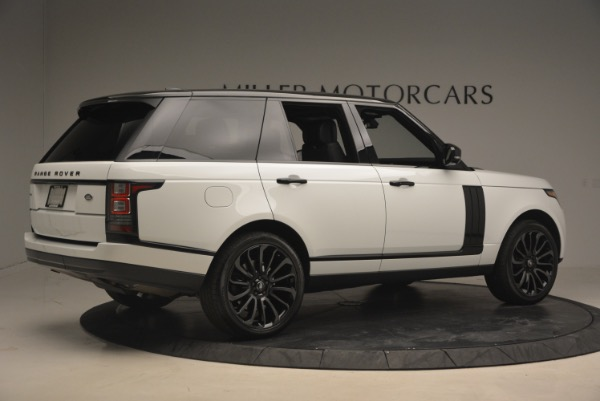 Used 2015 Land Rover Range Rover Supercharged for sale Sold at Aston Martin of Greenwich in Greenwich CT 06830 8
