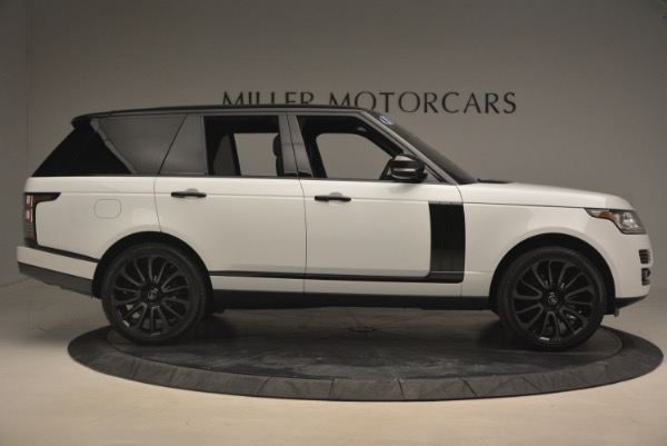 Used 2015 Land Rover Range Rover Supercharged for sale Sold at Aston Martin of Greenwich in Greenwich CT 06830 9