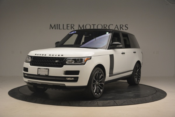 Used 2015 Land Rover Range Rover Supercharged for sale Sold at Aston Martin of Greenwich in Greenwich CT 06830 1