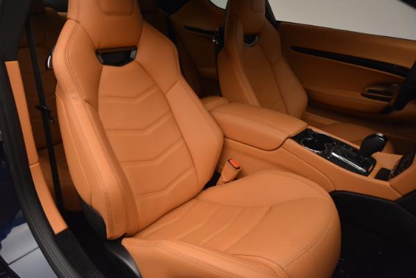 New 2017 Maserati GranTurismo Coupe Sport for sale Sold at Aston Martin of Greenwich in Greenwich CT 06830 21