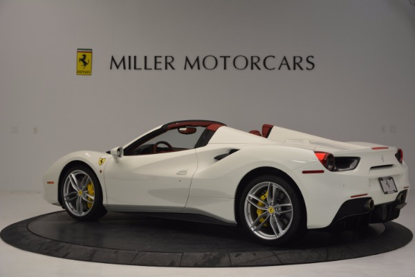 Used 2017 Ferrari 488 Spider for sale Sold at Aston Martin of Greenwich in Greenwich CT 06830 4