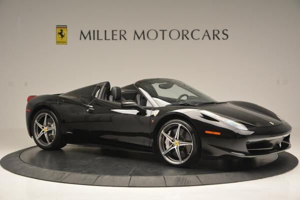 Used 2012 Ferrari 458 Spider for sale Sold at Aston Martin of Greenwich in Greenwich CT 06830 10