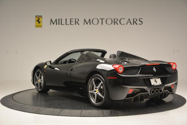 Used 2012 Ferrari 458 Spider for sale Sold at Aston Martin of Greenwich in Greenwich CT 06830 5