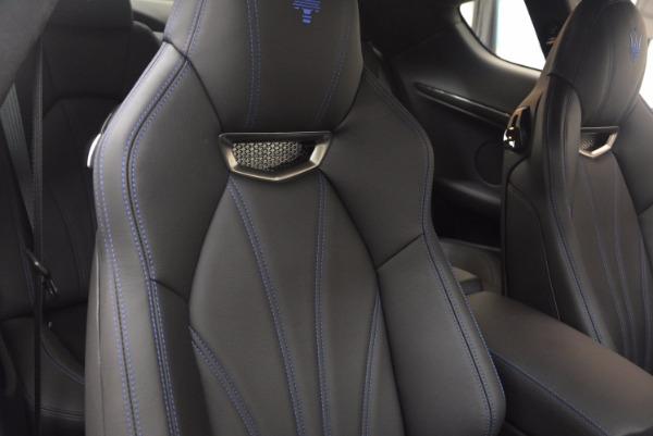 New 2017 Maserati GranTurismo Sport Coupe Special Edition for sale Sold at Aston Martin of Greenwich in Greenwich CT 06830 25