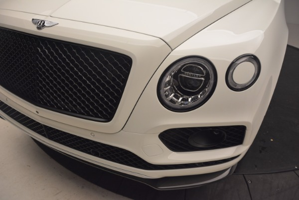 Used 2018 Bentley Bentayga Black Edition for sale Call for price at Aston Martin of Greenwich in Greenwich CT 06830 14