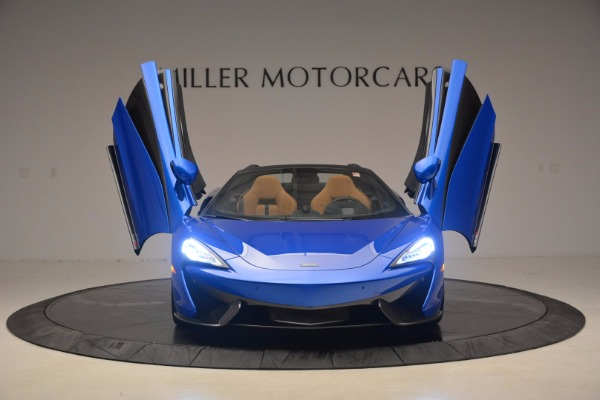 Used 2018 McLaren 570S Spider for sale Call for price at Aston Martin of Greenwich in Greenwich CT 06830 13