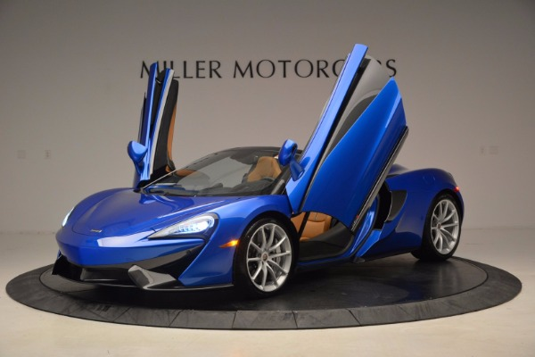 Used 2018 McLaren 570S Spider for sale Call for price at Aston Martin of Greenwich in Greenwich CT 06830 14