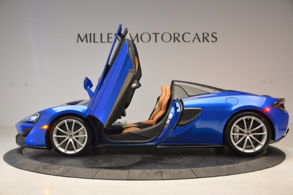 Used 2018 McLaren 570S Spider for sale Call for price at Aston Martin of Greenwich in Greenwich CT 06830 15