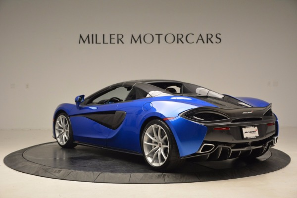 Used 2018 McLaren 570S Spider for sale Call for price at Aston Martin of Greenwich in Greenwich CT 06830 17