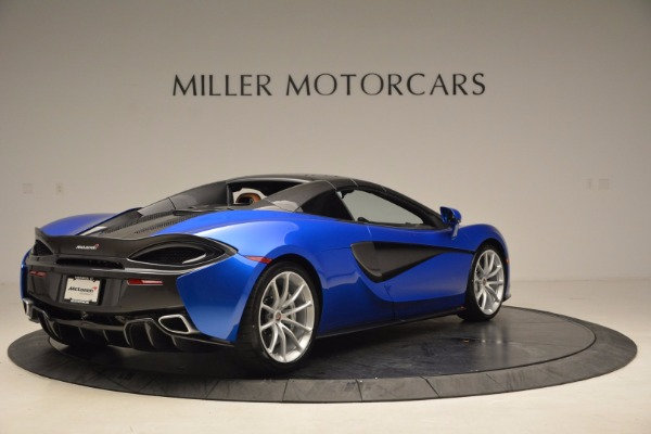 Used 2018 McLaren 570S Spider for sale Call for price at Aston Martin of Greenwich in Greenwich CT 06830 19