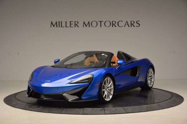 Used 2018 McLaren 570S Spider for sale Call for price at Aston Martin of Greenwich in Greenwich CT 06830 2