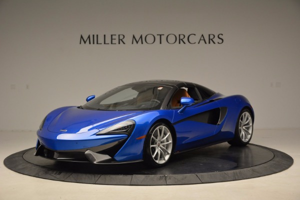 Used 2018 McLaren 570S Spider for sale Call for price at Aston Martin of Greenwich in Greenwich CT 06830 23