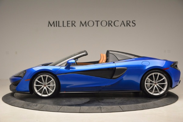 Used 2018 McLaren 570S Spider for sale Call for price at Aston Martin of Greenwich in Greenwich CT 06830 3