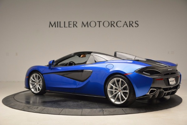 Used 2018 McLaren 570S Spider for sale Call for price at Aston Martin of Greenwich in Greenwich CT 06830 4