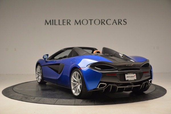 Used 2018 McLaren 570S Spider for sale Call for price at Aston Martin of Greenwich in Greenwich CT 06830 5