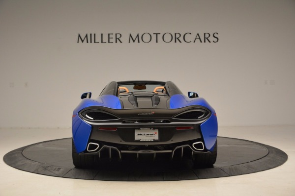 Used 2018 McLaren 570S Spider for sale Call for price at Aston Martin of Greenwich in Greenwich CT 06830 6