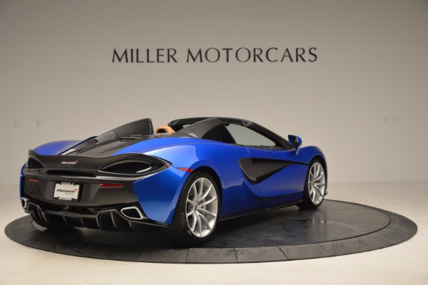 Used 2018 McLaren 570S Spider for sale Call for price at Aston Martin of Greenwich in Greenwich CT 06830 7