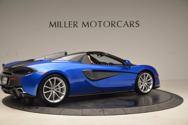 Used 2018 McLaren 570S Spider for sale Call for price at Aston Martin of Greenwich in Greenwich CT 06830 8
