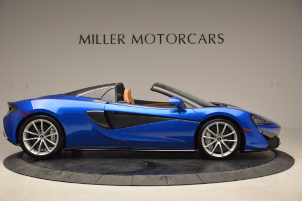 Used 2018 McLaren 570S Spider for sale Call for price at Aston Martin of Greenwich in Greenwich CT 06830 9