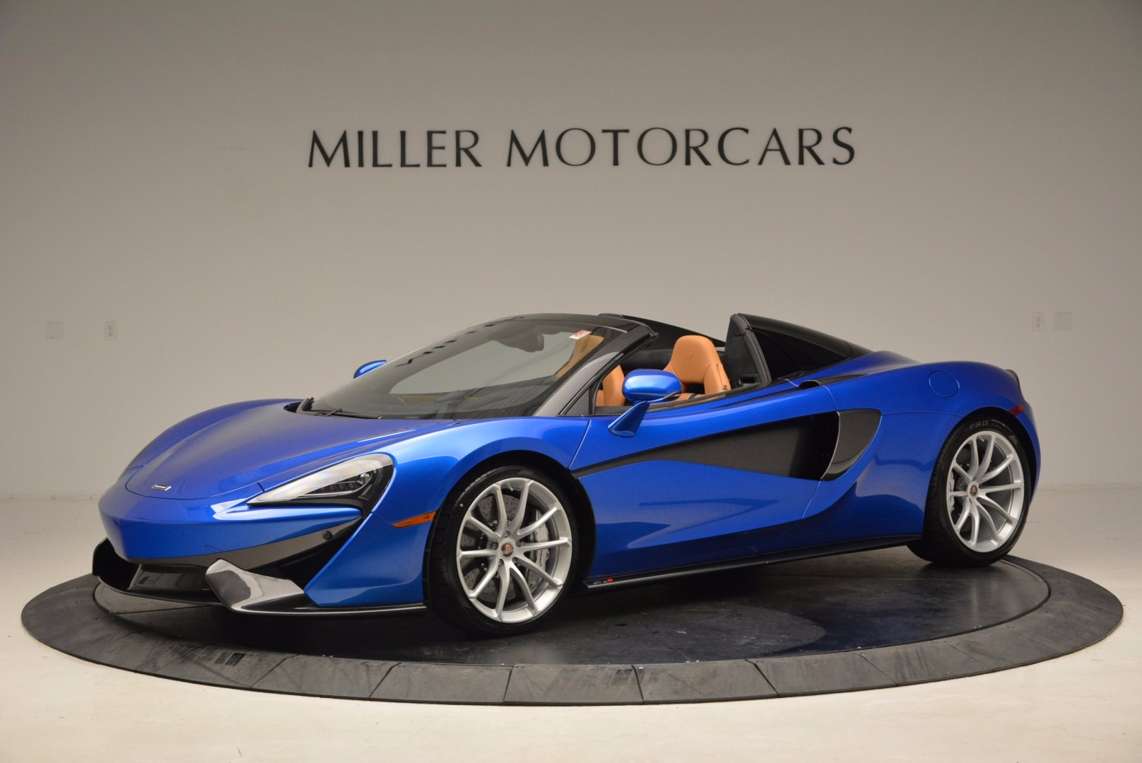 Used 2018 McLaren 570S Spider for sale Call for price at Aston Martin of Greenwich in Greenwich CT 06830 1