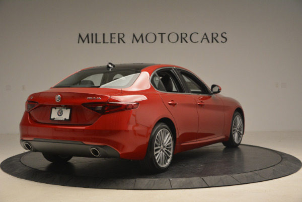 New 2017 Alfa Romeo Giulia Ti Q4 for sale Sold at Aston Martin of Greenwich in Greenwich CT 06830 7