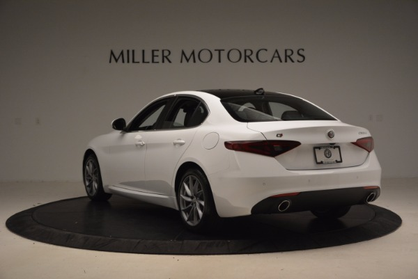 New 2017 Alfa Romeo Giulia Q4 for sale Sold at Aston Martin of Greenwich in Greenwich CT 06830 5