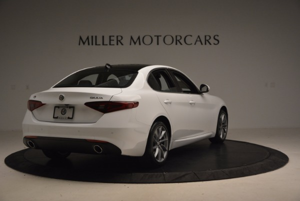 New 2017 Alfa Romeo Giulia Q4 for sale Sold at Aston Martin of Greenwich in Greenwich CT 06830 7