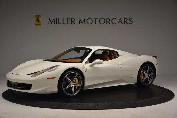 Used 2012 Ferrari 458 Spider for sale Sold at Aston Martin of Greenwich in Greenwich CT 06830 14