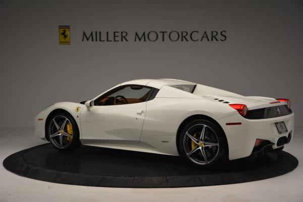 Used 2012 Ferrari 458 Spider for sale Sold at Aston Martin of Greenwich in Greenwich CT 06830 16