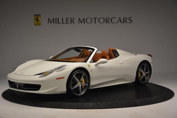 Used 2012 Ferrari 458 Spider for sale Sold at Aston Martin of Greenwich in Greenwich CT 06830 2