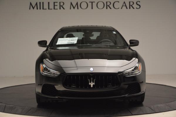 New 2017 Maserati Ghibli SQ4 S Q4 Nerissimo Edition for sale Sold at Aston Martin of Greenwich in Greenwich CT 06830 12