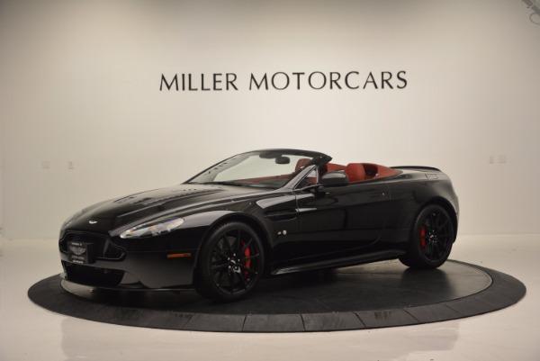 Used 2015 Aston Martin V12 Vantage S Roadster for sale Sold at Aston Martin of Greenwich in Greenwich CT 06830 2