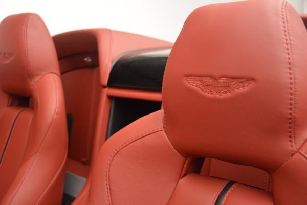 Used 2015 Aston Martin V12 Vantage S Roadster for sale Sold at Aston Martin of Greenwich in Greenwich CT 06830 24