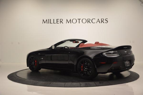 Used 2015 Aston Martin V12 Vantage S Roadster for sale Sold at Aston Martin of Greenwich in Greenwich CT 06830 4