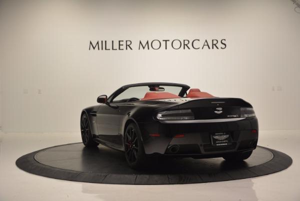 Used 2015 Aston Martin V12 Vantage S Roadster for sale Sold at Aston Martin of Greenwich in Greenwich CT 06830 5