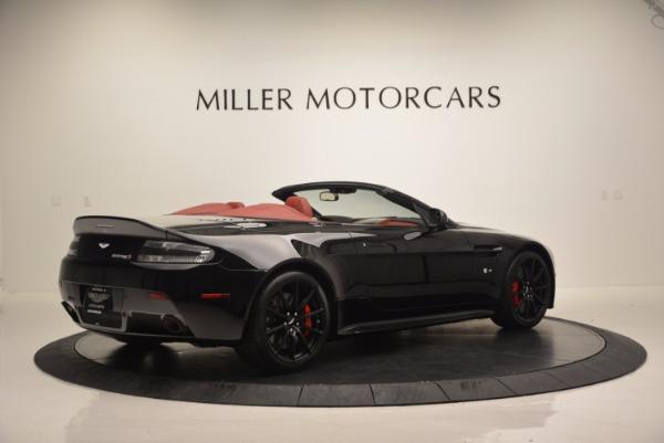 Used 2015 Aston Martin V12 Vantage S Roadster for sale Sold at Aston Martin of Greenwich in Greenwich CT 06830 8