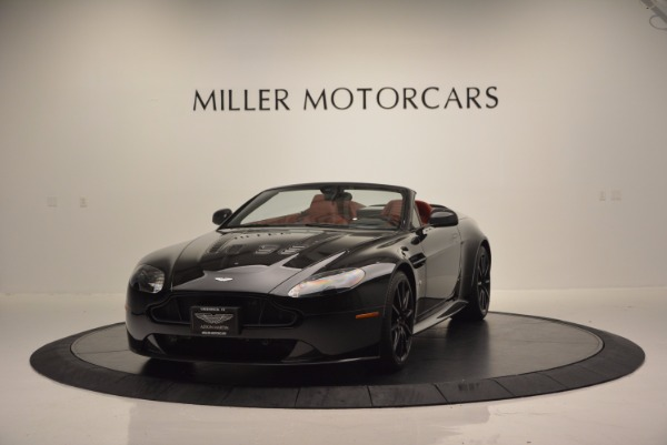 Used 2015 Aston Martin V12 Vantage S Roadster for sale Sold at Aston Martin of Greenwich in Greenwich CT 06830 1