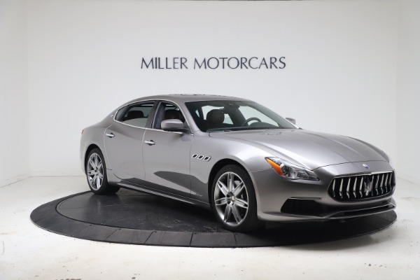 New 2017 Maserati Quattroporte SQ4 GranLusso/ Zegna for sale Sold at Aston Martin of Greenwich in Greenwich CT 06830 11