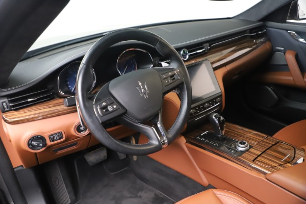 New 2017 Maserati Quattroporte SQ4 GranLusso/ Zegna for sale Sold at Aston Martin of Greenwich in Greenwich CT 06830 13