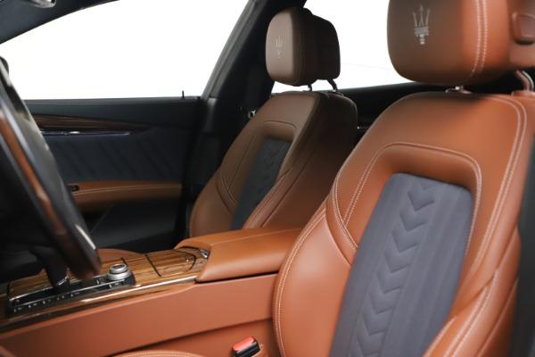 Used 2017 Maserati Quattroporte SQ4 GranLusso/ Zegna for sale $62,900 at Aston Martin of Greenwich in Greenwich CT 06830 15