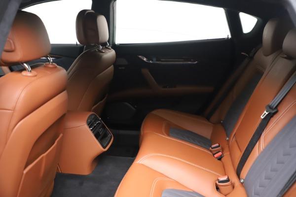 Used 2017 Maserati Quattroporte SQ4 GranLusso/ Zegna for sale $62,900 at Aston Martin of Greenwich in Greenwich CT 06830 18