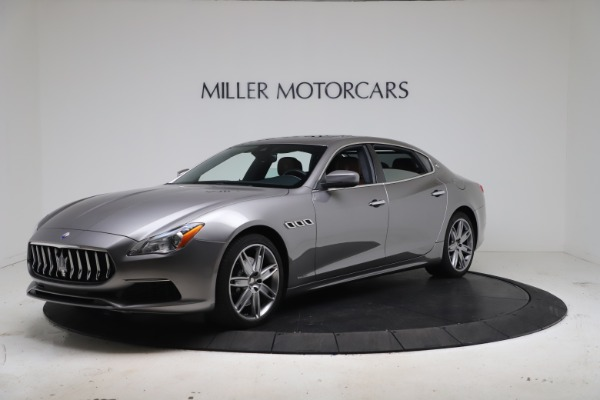 New 2017 Maserati Quattroporte SQ4 GranLusso/ Zegna for sale Sold at Aston Martin of Greenwich in Greenwich CT 06830 2