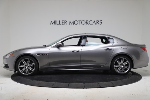 New 2017 Maserati Quattroporte SQ4 GranLusso/ Zegna for sale Sold at Aston Martin of Greenwich in Greenwich CT 06830 3