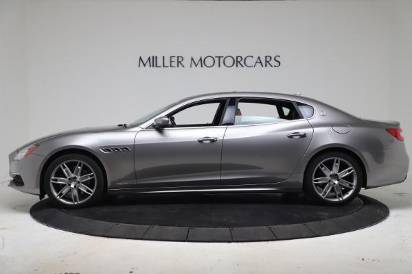 Used 2017 Maserati Quattroporte SQ4 GranLusso/ Zegna for sale $62,900 at Aston Martin of Greenwich in Greenwich CT 06830 3