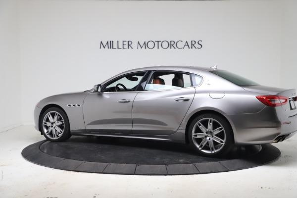 Used 2017 Maserati Quattroporte SQ4 GranLusso/ Zegna for sale $62,900 at Aston Martin of Greenwich in Greenwich CT 06830 4