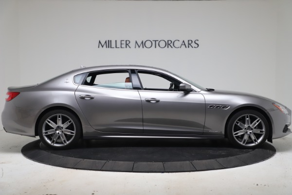 New 2017 Maserati Quattroporte SQ4 GranLusso/ Zegna for sale Sold at Aston Martin of Greenwich in Greenwich CT 06830 9