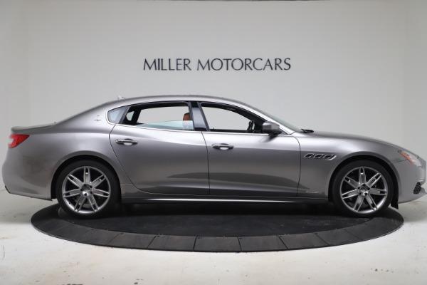 Used 2017 Maserati Quattroporte SQ4 GranLusso/ Zegna for sale $62,900 at Aston Martin of Greenwich in Greenwich CT 06830 9