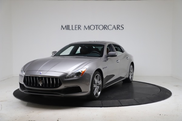 New 2017 Maserati Quattroporte SQ4 GranLusso/ Zegna for sale Sold at Aston Martin of Greenwich in Greenwich CT 06830 1