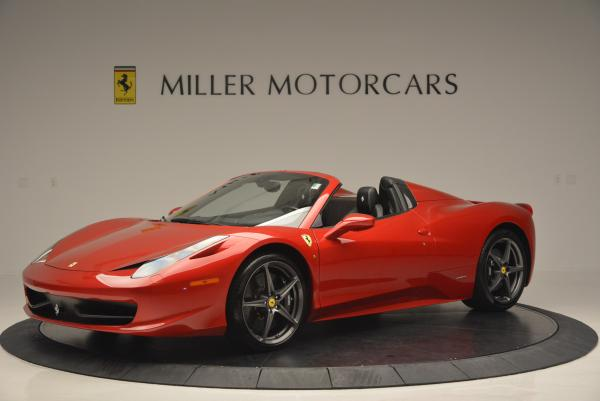 Used 2013 Ferrari 458 Spider for sale Sold at Aston Martin of Greenwich in Greenwich CT 06830 2
