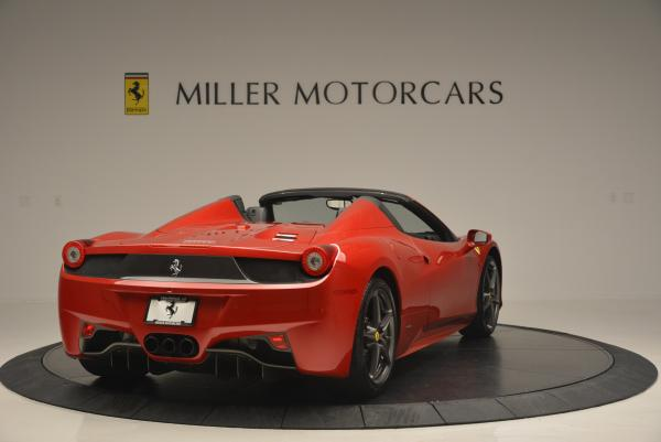 Used 2013 Ferrari 458 Spider for sale Sold at Aston Martin of Greenwich in Greenwich CT 06830 7